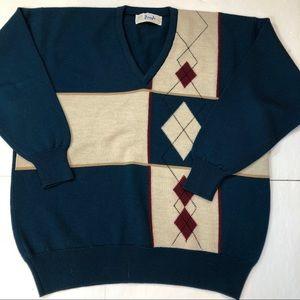 Pringle of Scotland 100% Lambs wool sweater Sz M